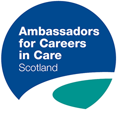 Ambassadors for careers in care Scotland